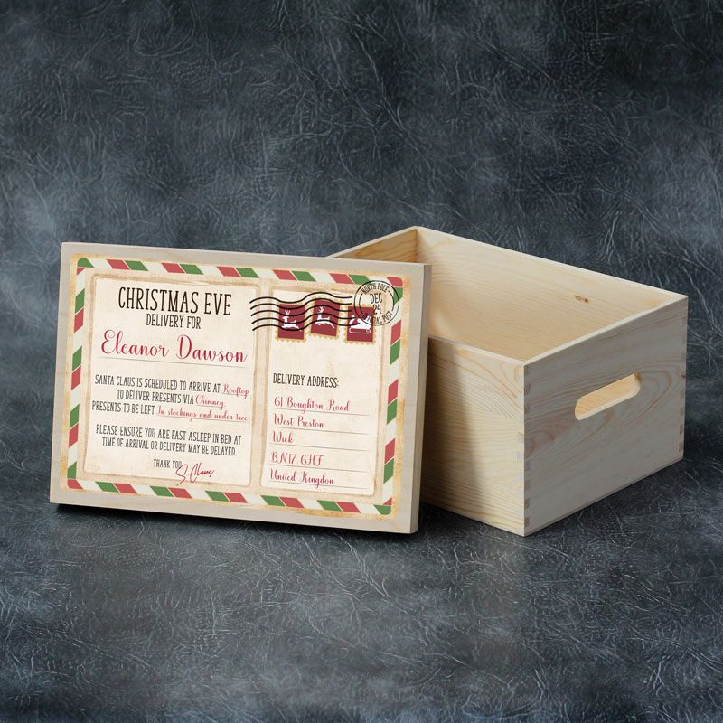 Printed Christmas Eve Box - Xmas Delivery
