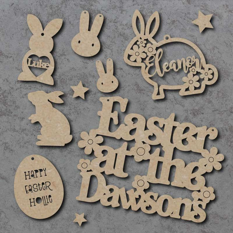 Easter Signs and Shapes