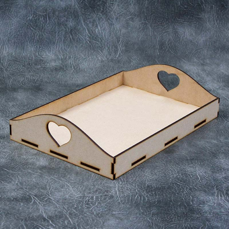 Wooden Serving Tray Kit