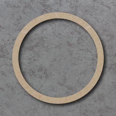 Hollow Circle Craft Shape