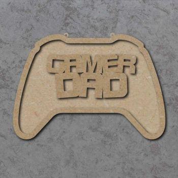 Gamer Dad Controller Plaque