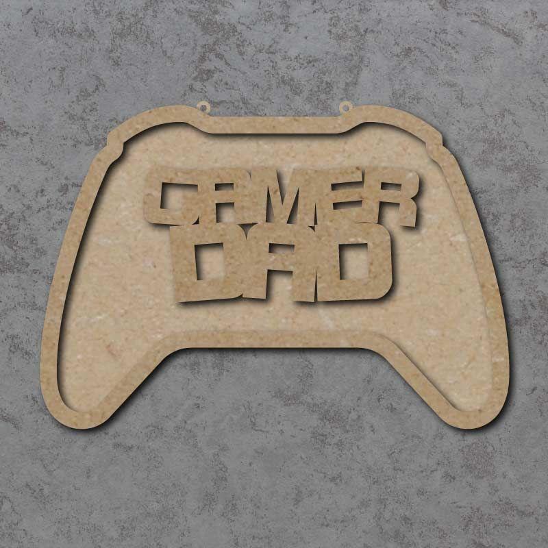 Gamer Gad Controller Plaque