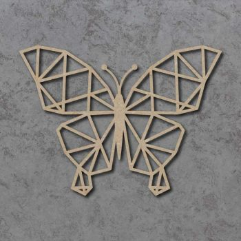 Geometric Butterfly Detailed Craft Shapes