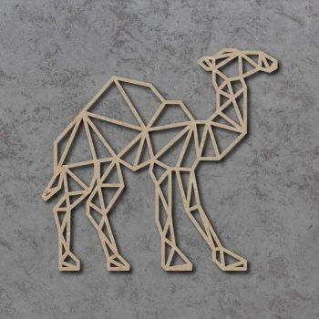 Geometric Camel Detailed Craft Shapes