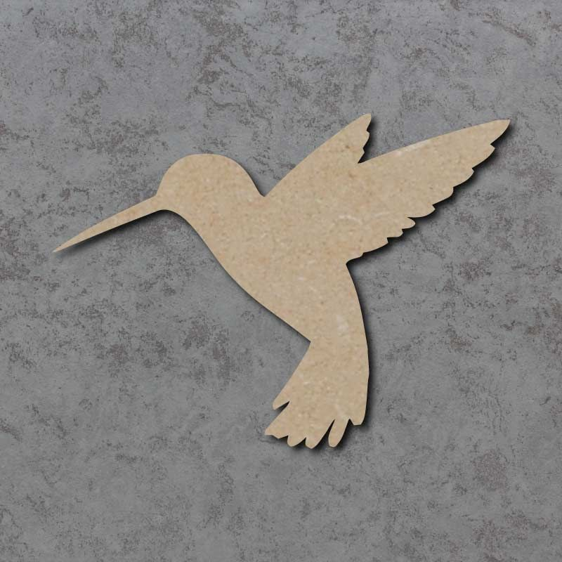 Hummingbird Blank Craft Shapes