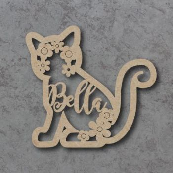 Personalised Cat Flower Names