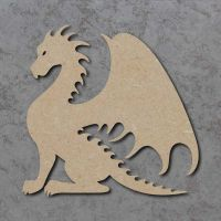 Dragon 02 Blank Craft Shapes