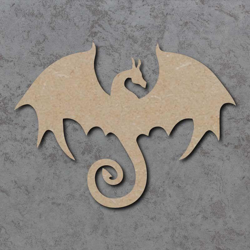 Dragon 03 Blank Craft Shapes