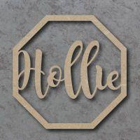 Octagon Hoop Names - Personalised