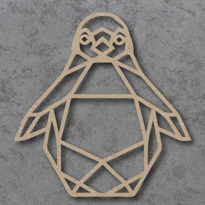 Geometric Penguin Detailed Craft Shapes