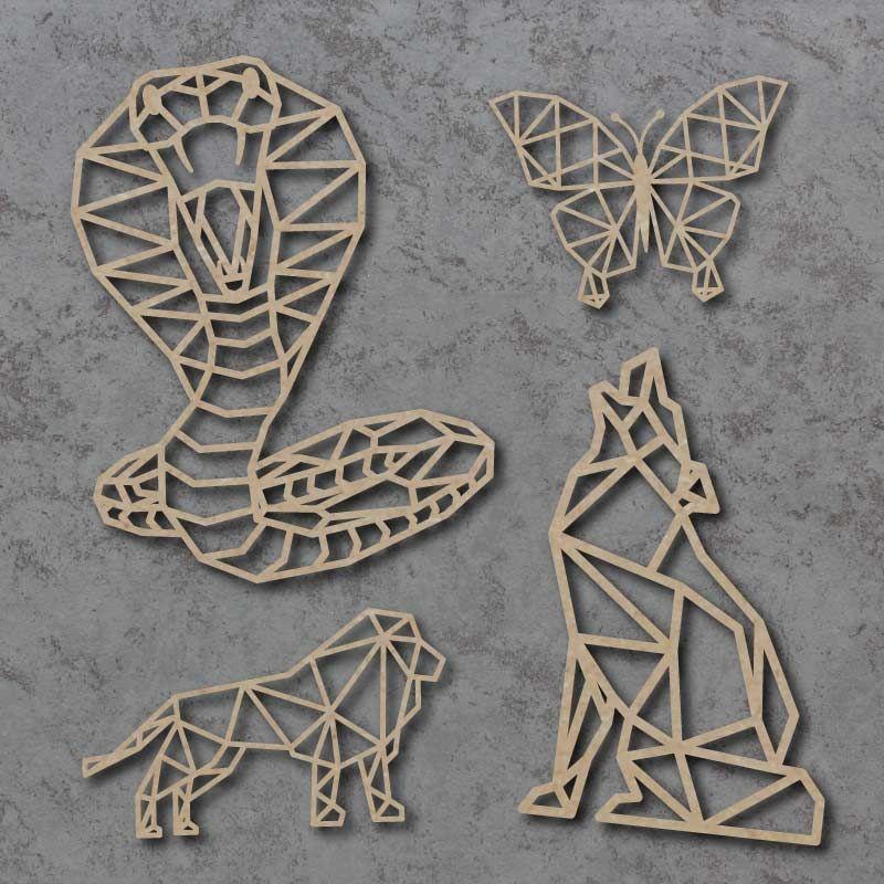 Geometric Craft Shapes