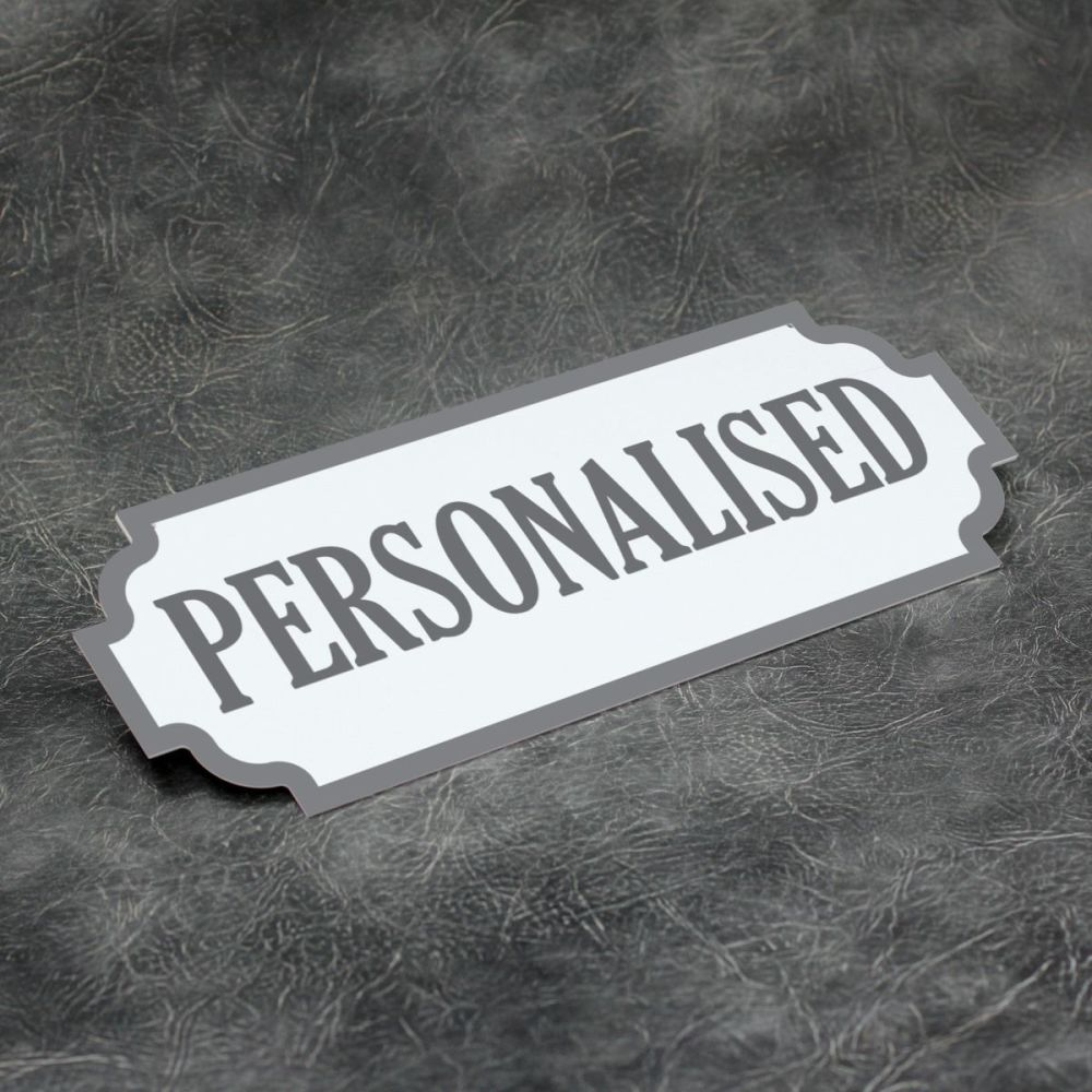 Printed Personalised Hanging Street Sign - Design 2
