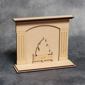 3D Fireplace Craft Kit