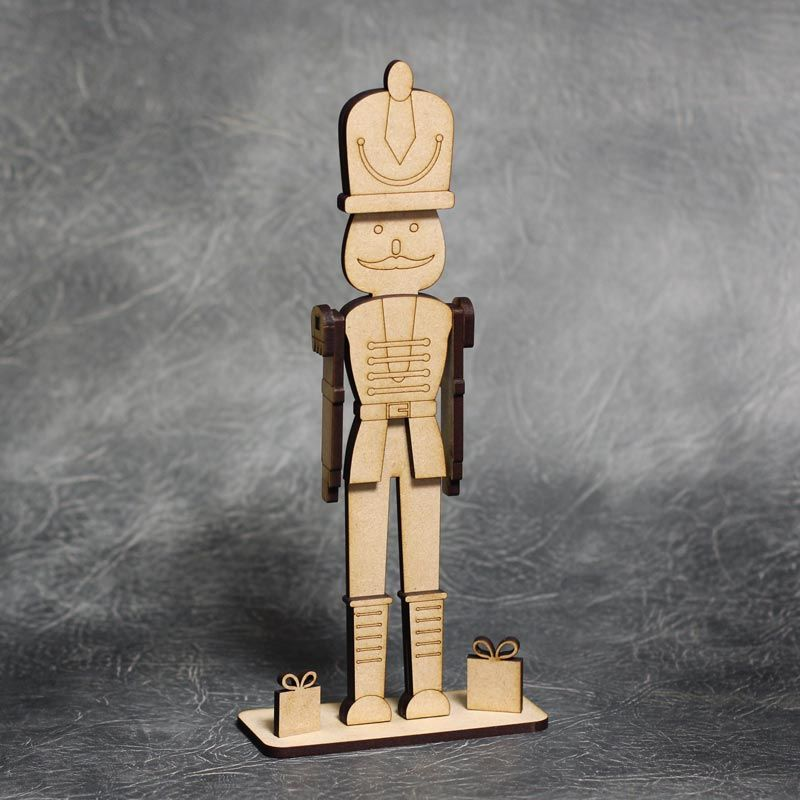 3D Nutcracker Toy Soldier Craft Kit