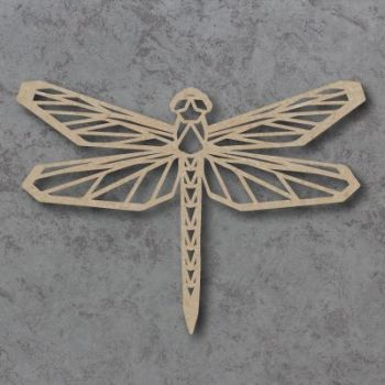 Geometric DragonFly Detailed Craft Shapes