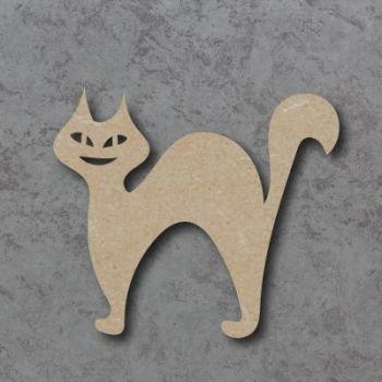 Halloween Cat Blank Craft Shapes