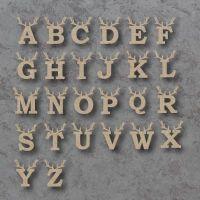 Reindeer Letter Bauble