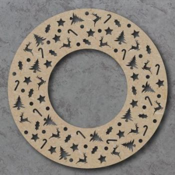 Christmas Wreath Cut outs