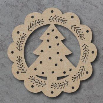 Christmas Wreath and Tree