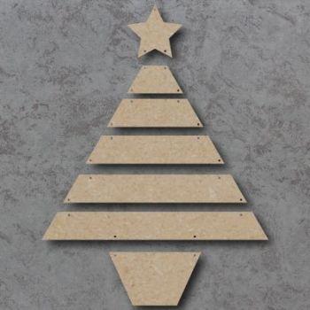 MDF Slatted Christmas Tree