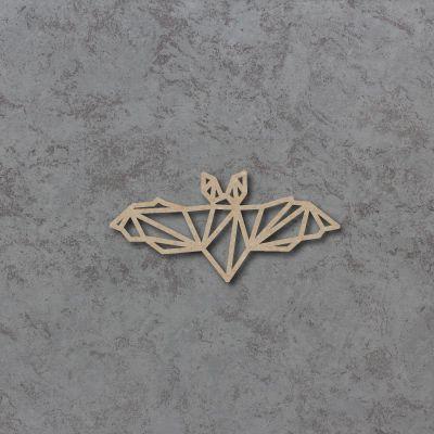 Geometric Bat Detailed Craft Shapes