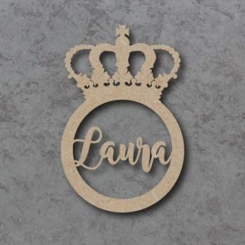 Crown Name Bauble