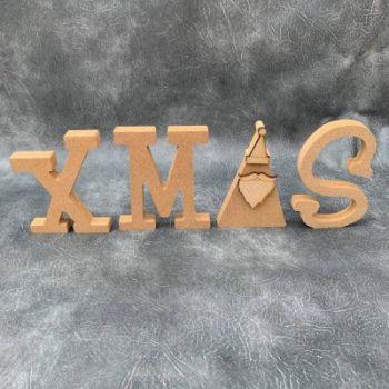 XMAS Craft Shapes 18mm Thick