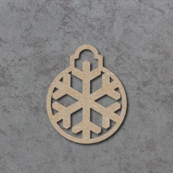 Personalised Snowflake Bauble