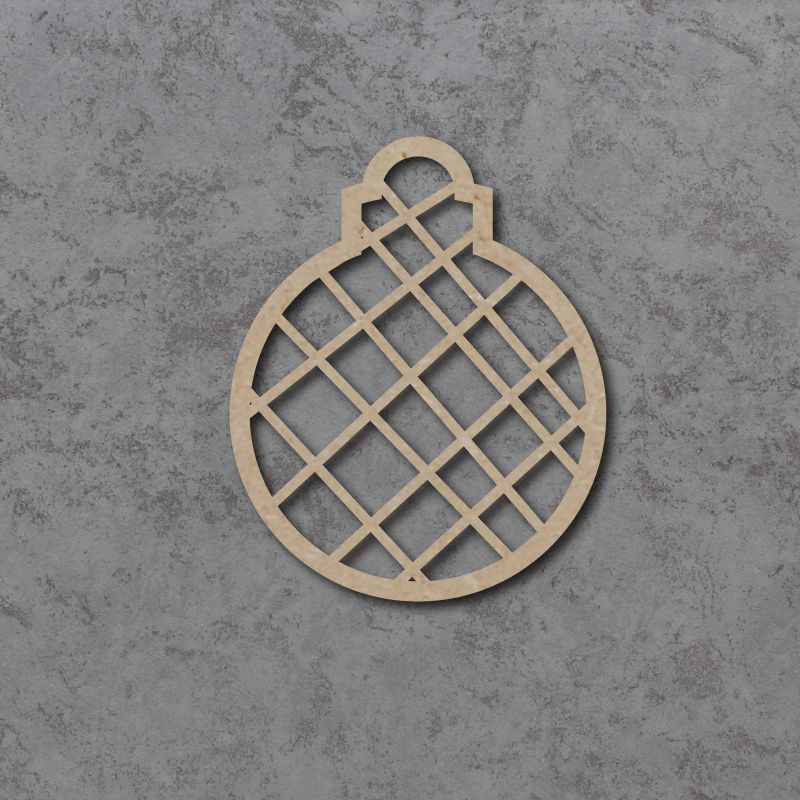 Geometric Bauble Shape