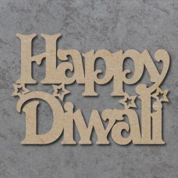 Happy Diwali (Victorian Font)  Craft Signs