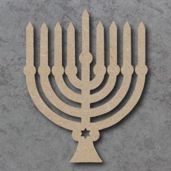 Hanukkah Menorah Craft Shapes