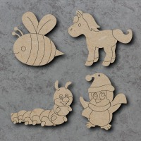 Detailed Craft Shapes