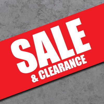 **Clearance & Sale Items**