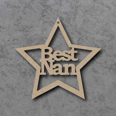 Best Nan Star mdf Shapes