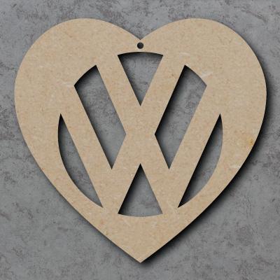 'VW' Heart