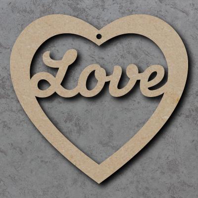 'Love' Heart