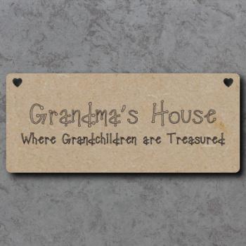 Grandmas House Sign