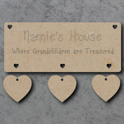 Nannies House Sign