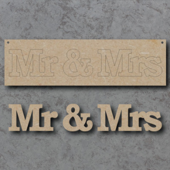 Mr & Mrs Craft Sign
