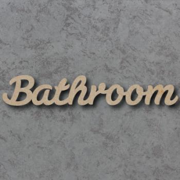 Bathroom Script Font
