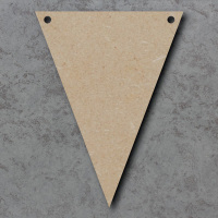 Triangle / Flag Bunting mdf Shapes