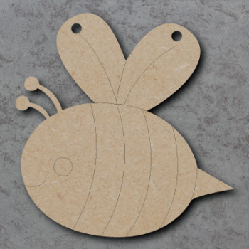 Bee Bunting mdf Shapes