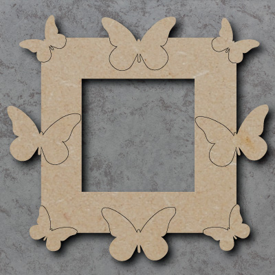 Butterflies Wooden Craft Lightswitch Surround