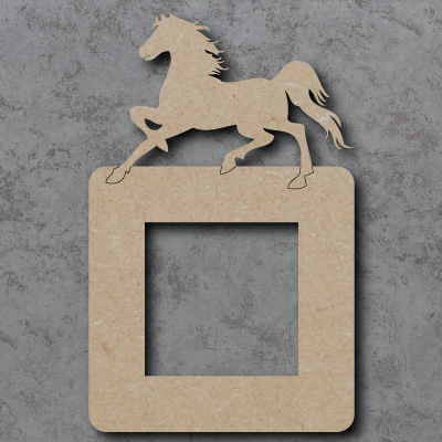 Horse Lightswitch Surround