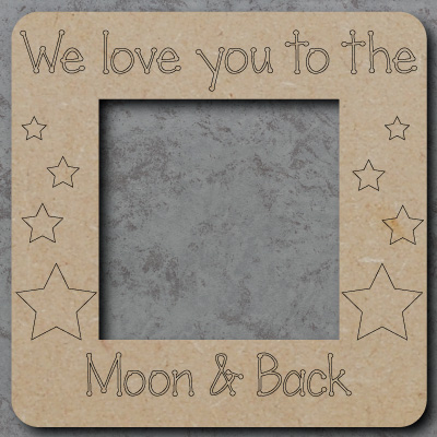 Moon and Back Lightswitch Surround