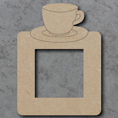 Tea Cup Lightswitch Surround