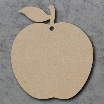Apple Wooden Craft Shapes