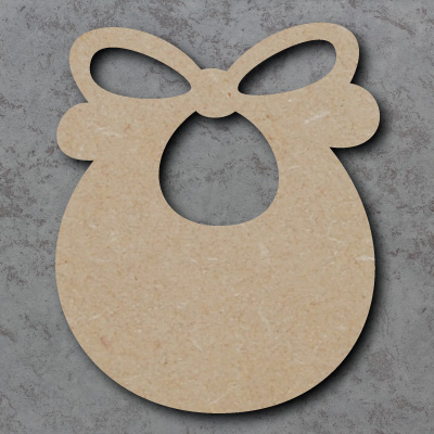 Bib Wooden Craft Shapes