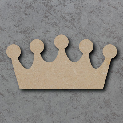 Crown Wooden Craft Shapes