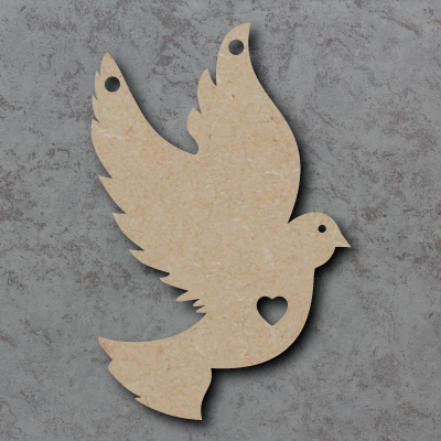 Dove Wooden Craft Shapes